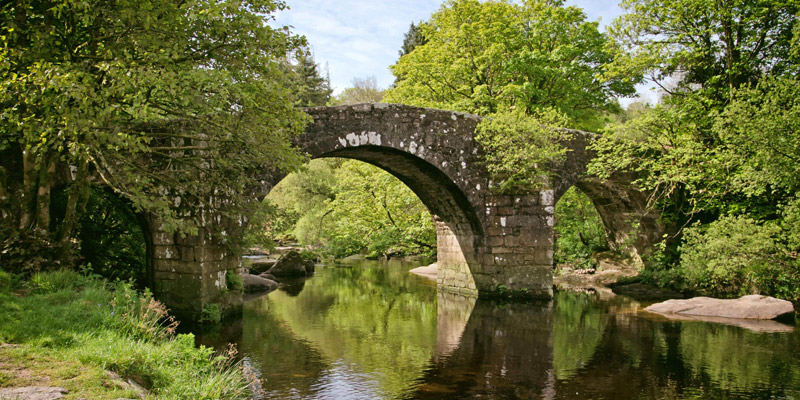Huccaby Bridge, Dartmoor