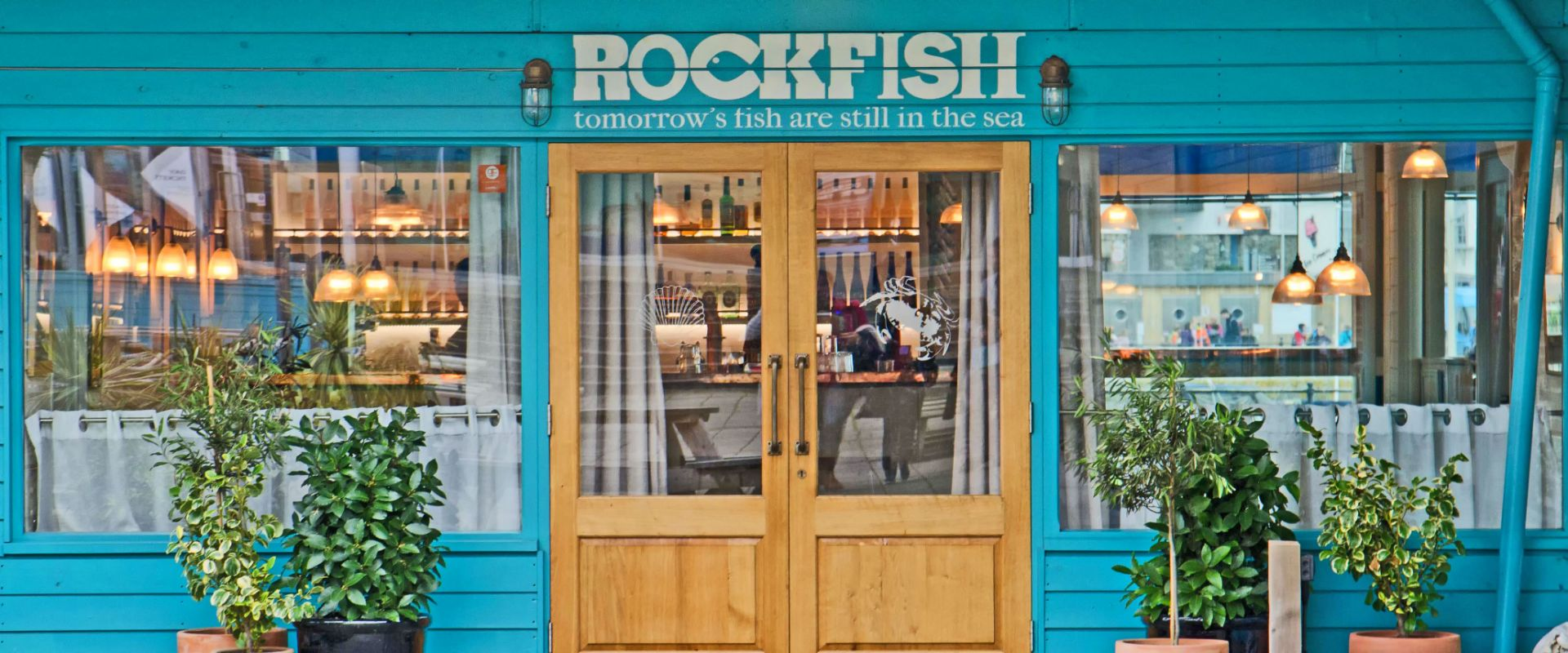 Rockfish restaurant where seafood comes into its own