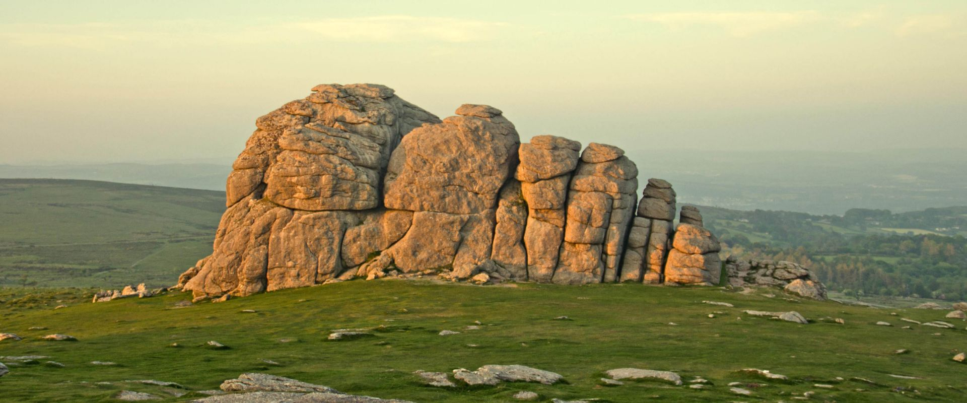 Haytor at sunset