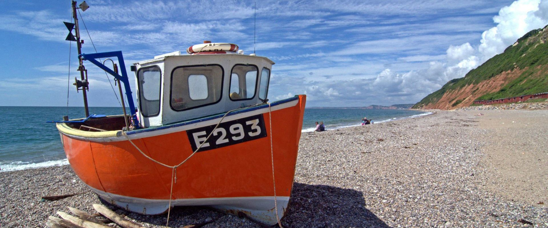 Fishing boat at Branscombe