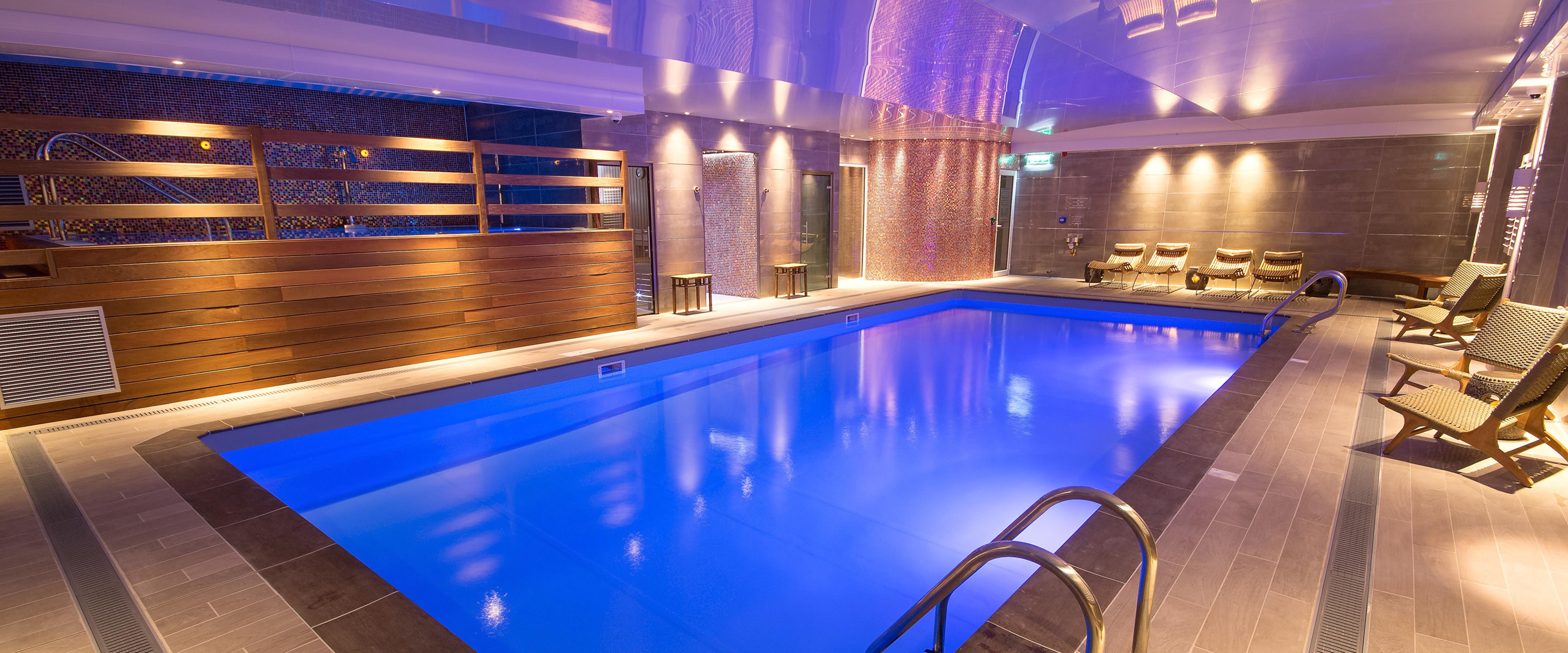 The spa at Ilsington Country House Hotel
