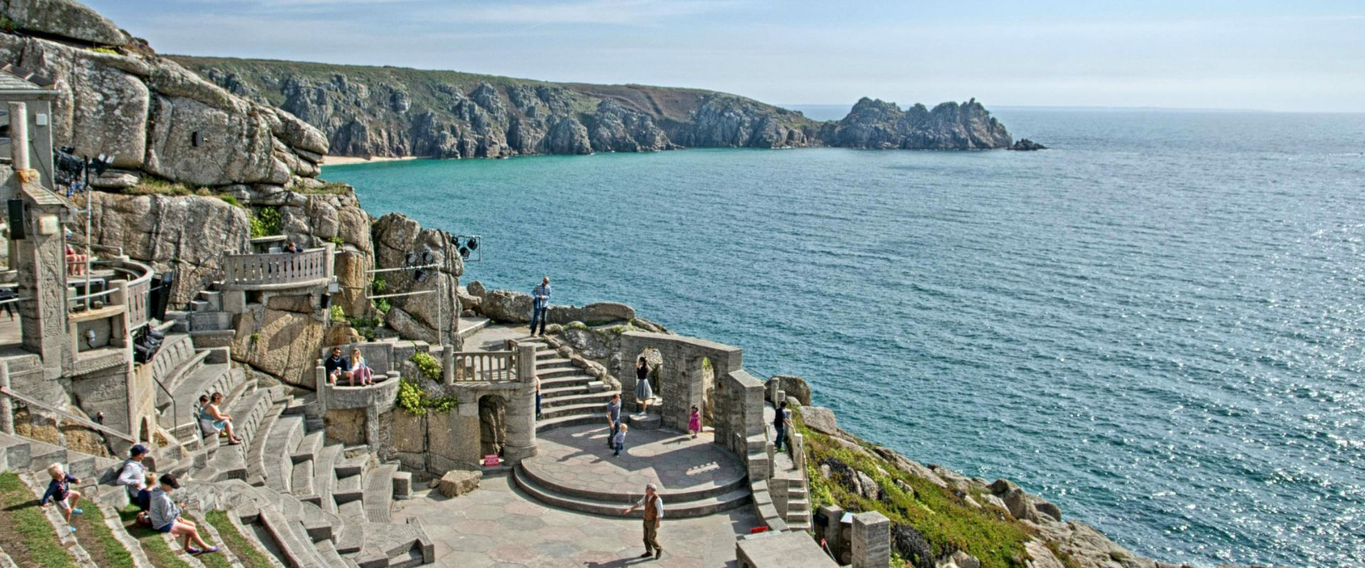 The Minack Theatre in Cornwall