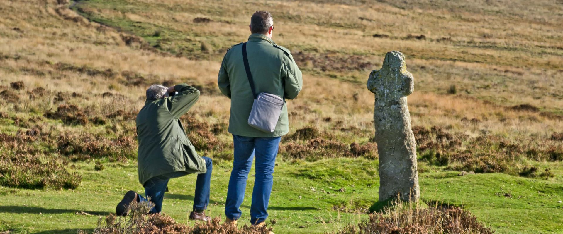 Guests on a photography workshop with Unique Devon Tours