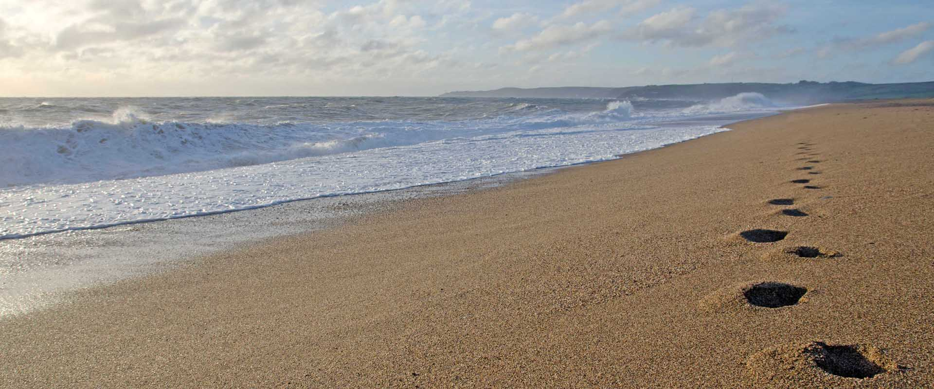 Slapton Sands where Exercise Tiger took place
