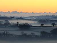 Devon sunrise