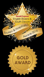 Unique Devon Tours - winners of the Herald Express English Riviera & South Devon Tourism and Hospitality Awards 2014
