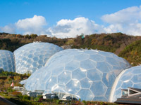 The Eden Project, Cornwall.