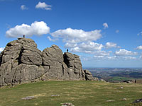 Devon tours - Haytor rocks