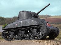 Devon Coastal Tour - Memorial Tank Torcross