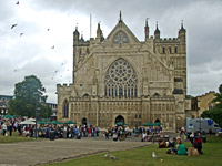 Exeter Cathedral Devon attraction