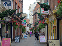Gandy Street in Exeter