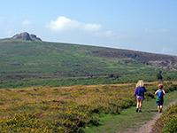 Walkers on Dartmoor