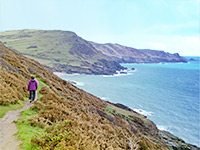 Walking on the South Devon Coast