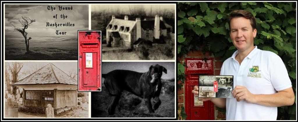 12 - Hound of the Baskervilles Postcard