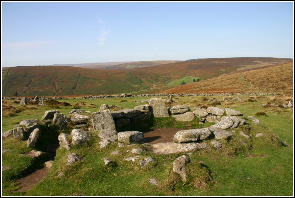 2 - Bronze Age Hut at Grimspound