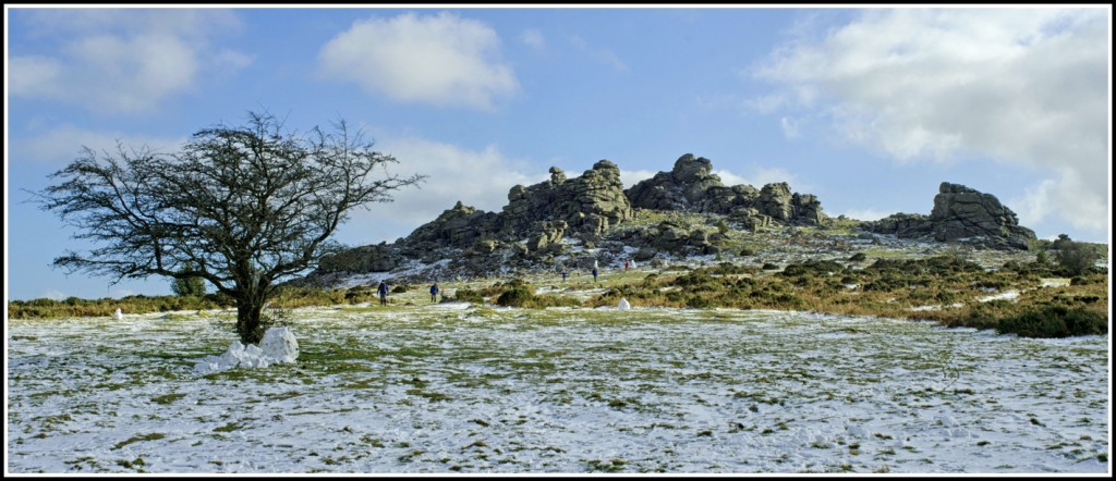 Hound Tor on Dartmoor