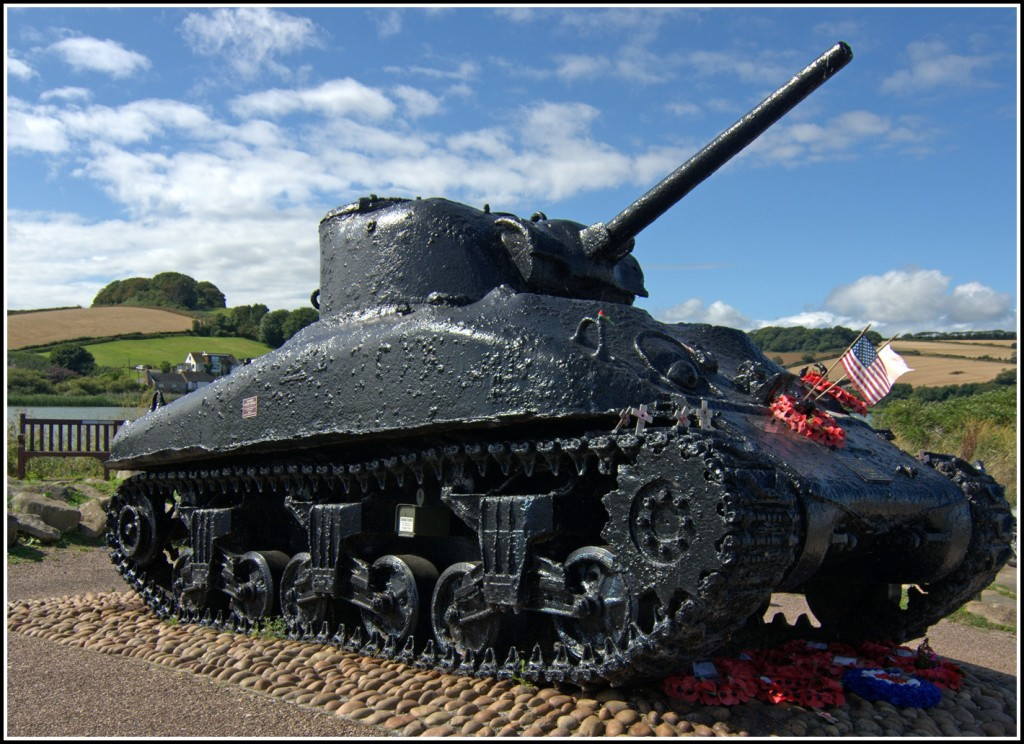 3 - The Sherman Tank at Torcross