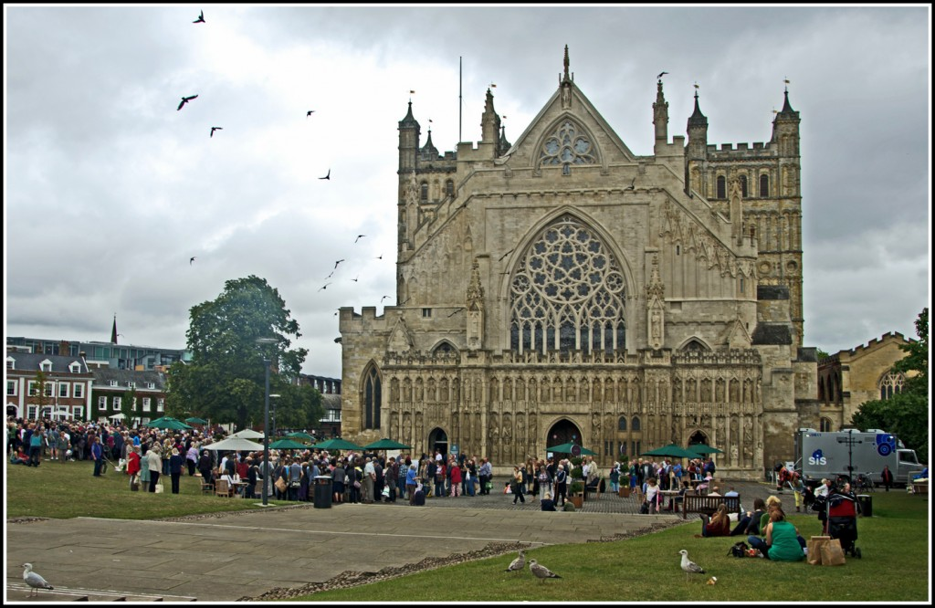7 - Exeter Cathedral