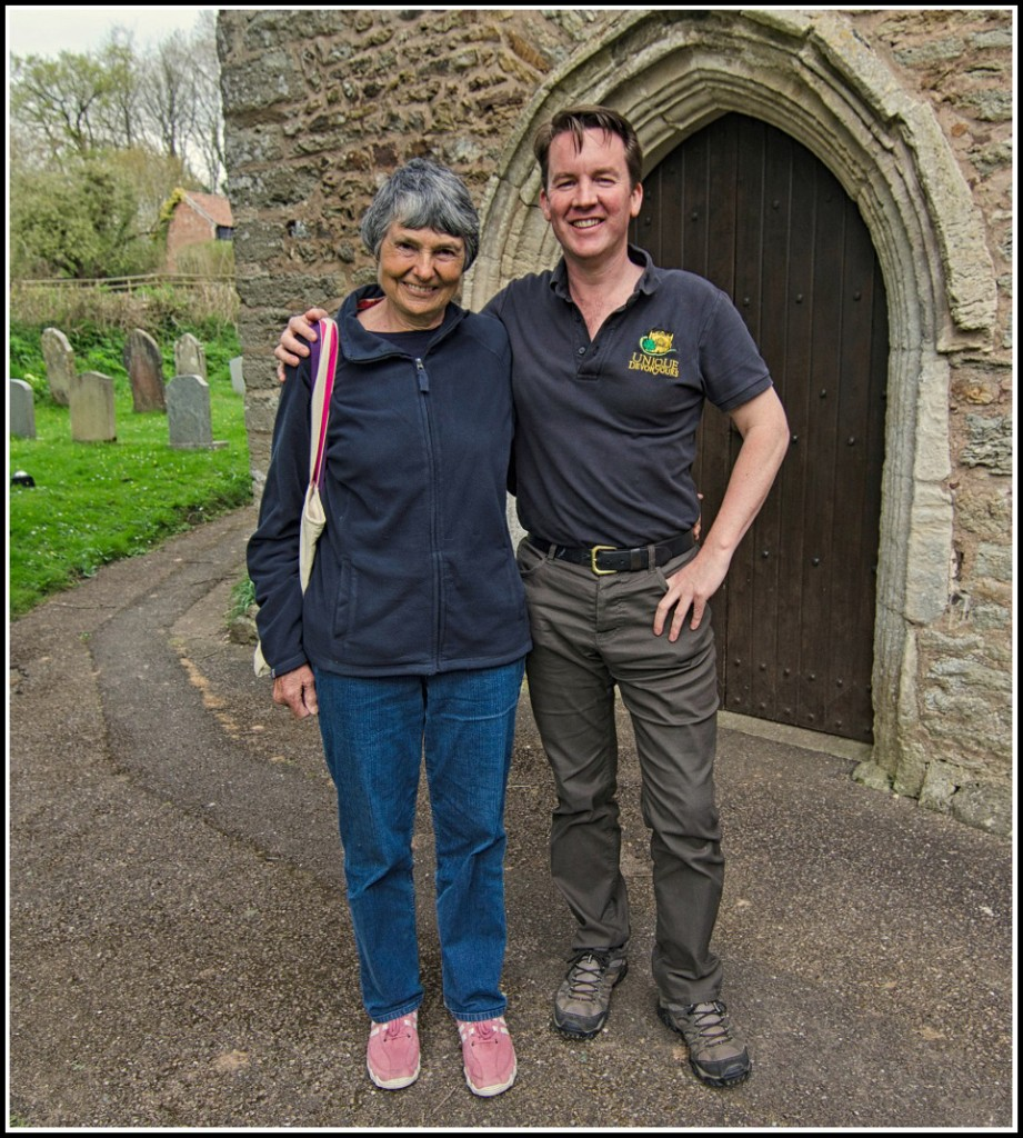 Hilary and I on a Unique Devon Tour!