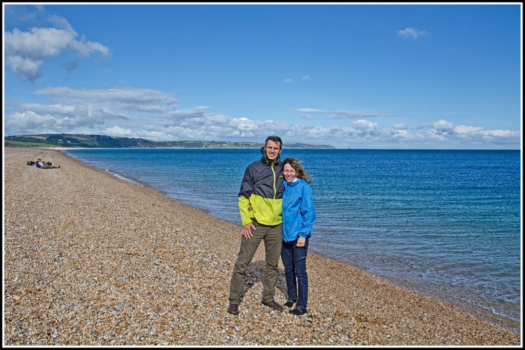 Previous Guests on a South Devon Beach