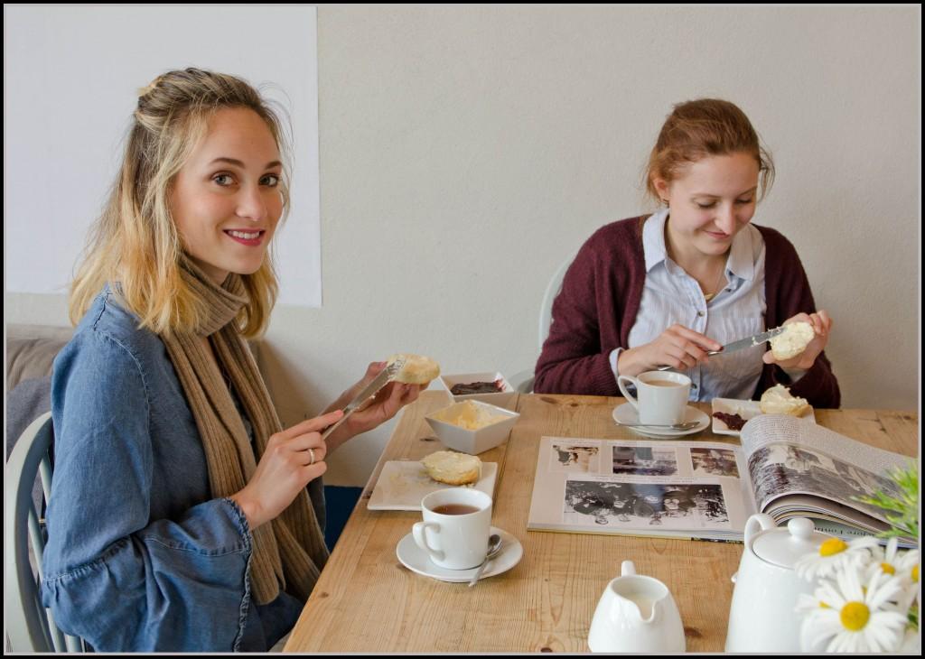 Stokeley Farm Shop cream tea