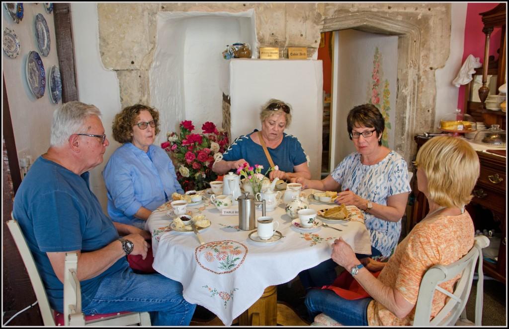 The Merchant's Tea Rooms in Colyton