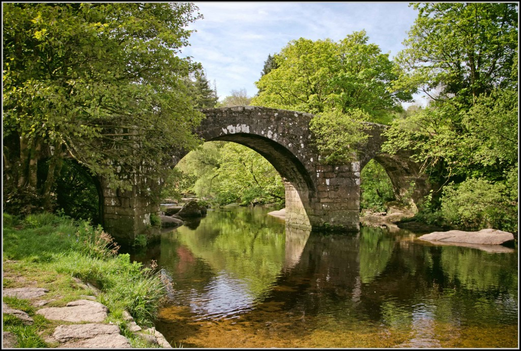 Huccaby Bridge on Dartmoor