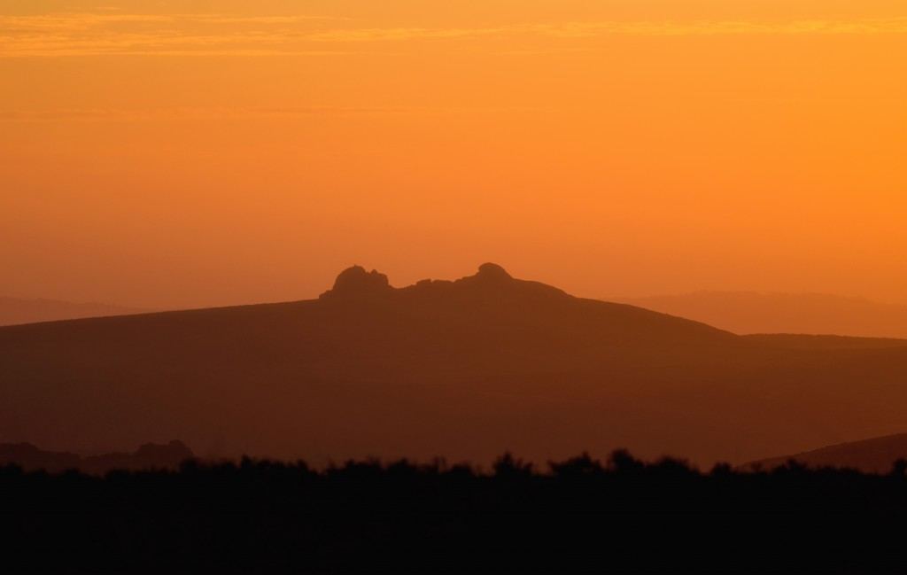 Haytor at Dawn