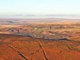 View across Dartmoor from Hameldown
