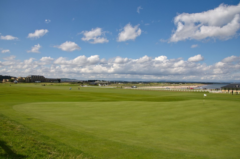 Eighteenth hole St. Andrews
