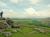 Enjoying the View from Combestone Tor