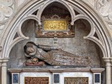 Grave with Exeter Cathedral