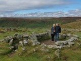 Grimspound Bronze Age settlement