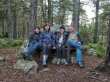 Guests at Loch An Eilean