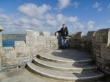 Guest at St. Michael's Mount