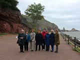 Guests at Ansteys Cove on the Agatha Christie Tour