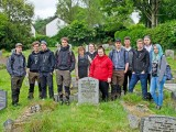 Group at Henry Baskerville's Grave