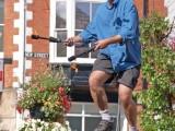 Juggler at Sidmouth Folk Festival