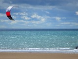 Kite Surfer at Bigbury
