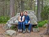 US Guests at Loch An Eilean