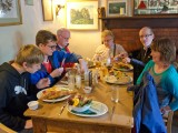 Lunch at The Rugglestone Inn