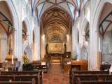 Ottery St. Mary Church interior