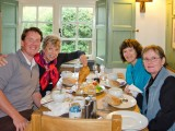 Guests at The Rugglestone Inn