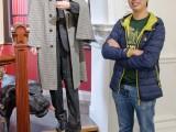 Sherlock Holmes fan at Princetown