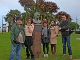 Journalist guests, Agatha Christie Memorial