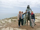 King Arthur's Sculpture, Tintagel